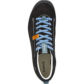 AKU Bellamont Suede GTX Zapatillas, black/light blue